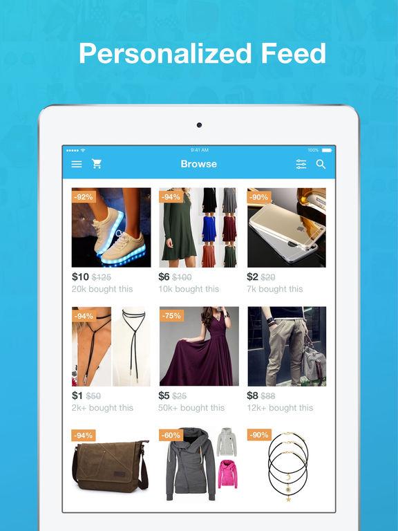 Screenshot #3 for Wish - Shopping Made Fun