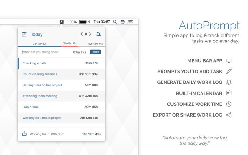 AutoPrompt Screenshots