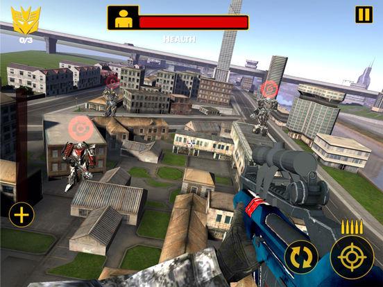 US Army Sniper Robots Futuristic Battle screenshot 6