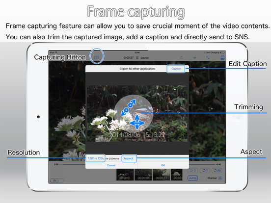 Touch The Video - Fully featured video player Screenshots