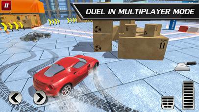 Car Drift Duels: Roof Racing