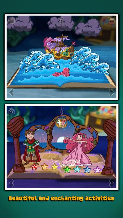 The Little Mermaid ~ 3D Interactive Pop-up Book Screenshots