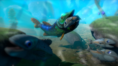 GIANT OCEAN MONSTER - FEED AND GROW FISH screenshot 3
