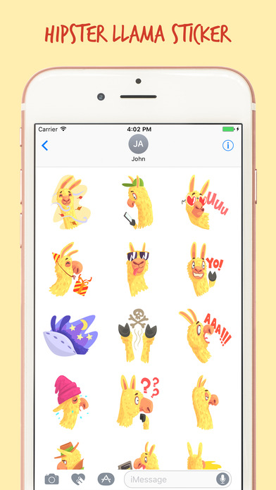 The Art Llama Stickers Pack screenshot 1