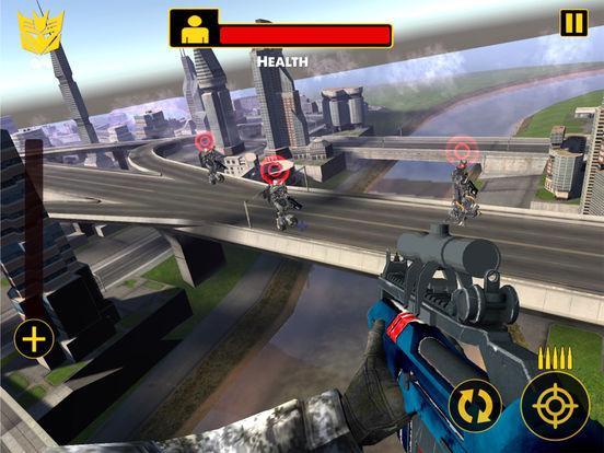 US Army Sniper Robots Futuristic Battle screenshot 7