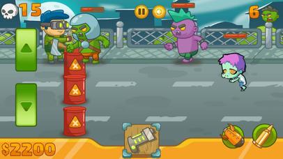 Zombie Defense Battle 2017 screenshot 1