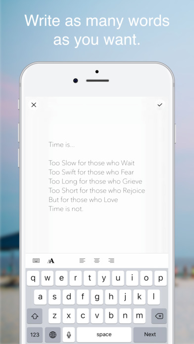 Instamemo - Writing on photos, keeping moments. Screenshots