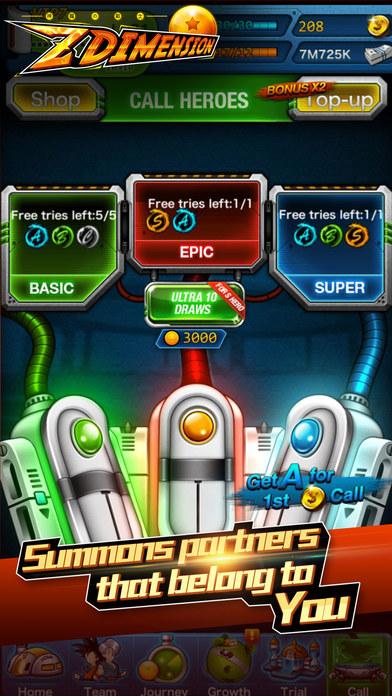 Z Dimension Saga screenshot 5