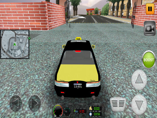 Taxi Simulator 2017: City Car Driving screenshot 7
