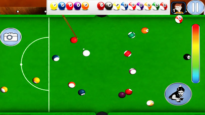 snooker pool Billiard game screenshot 2