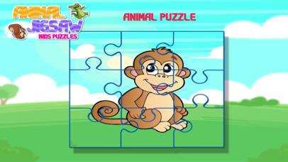 Animal Jigsaw Kids Puzzle screenshot 4