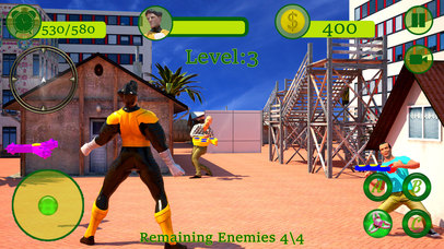 Fidget Spinner Superhero Street Battle screenshot 3