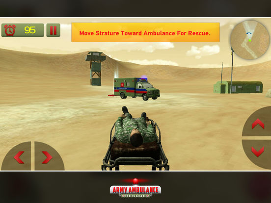 US Army Ambulance Rescue Game screenshot 6