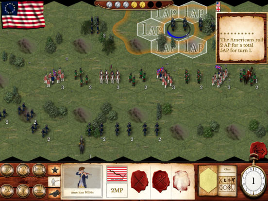 Hold the Line: The American Revolution screenshot 7