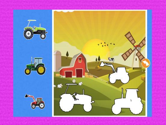 автомобиль Дети Изучение : машинки грузовики пазлы Скриншоты9