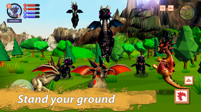 Dragon Family Simulator Full screenshot 4