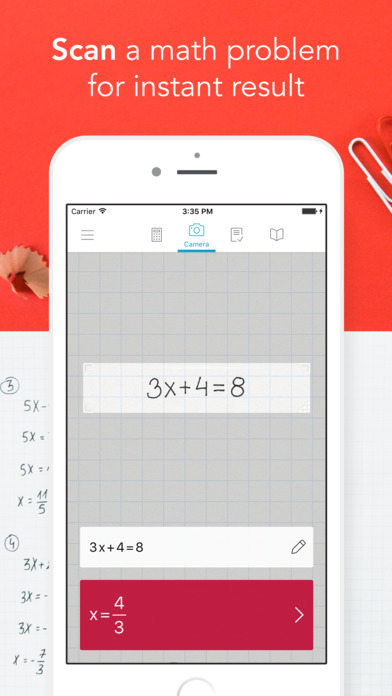 Screenshot for Photomath - Camera Calculator in United States App Store