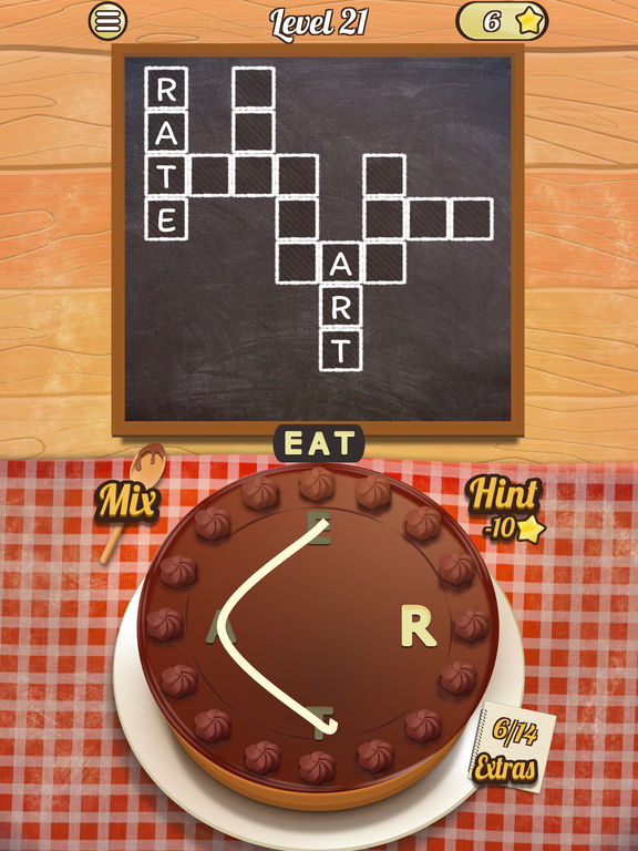 Crossword Cakes на iPad