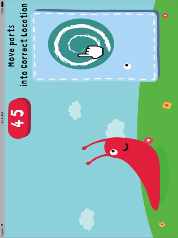 动物部位建立-认知拼图小游戏 screenshot 7