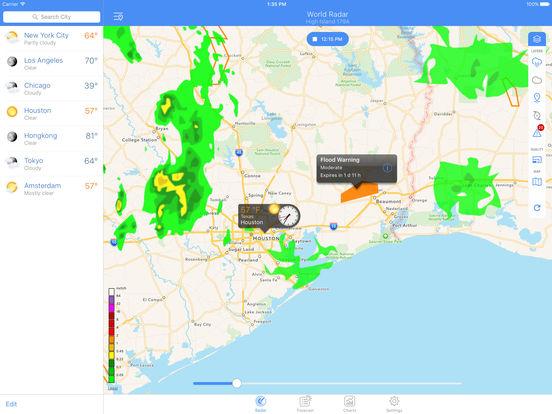 NOAA World Radar – Rain, Hurricanes & Weather Screenshots