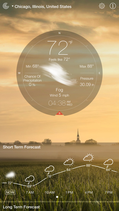 Screenshot #9 for Weather Live - Weather Forecast & Alerts