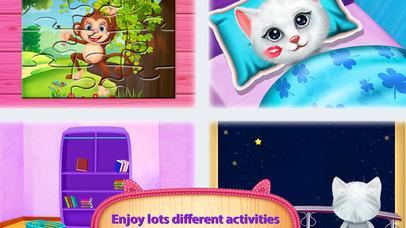 Cute Kitty's Bedtime Activities screenshot 5