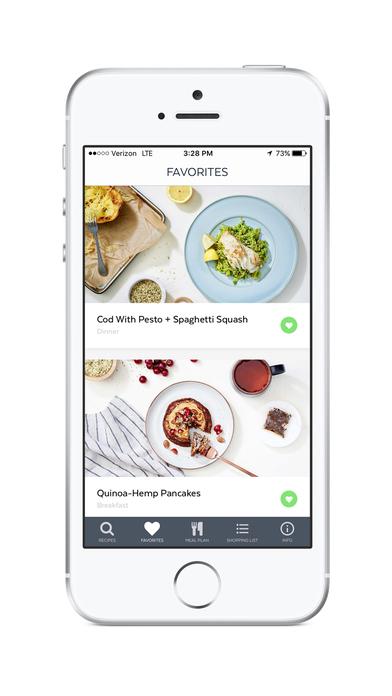 Clean-Eating Plan and Recipes Screenshot 4