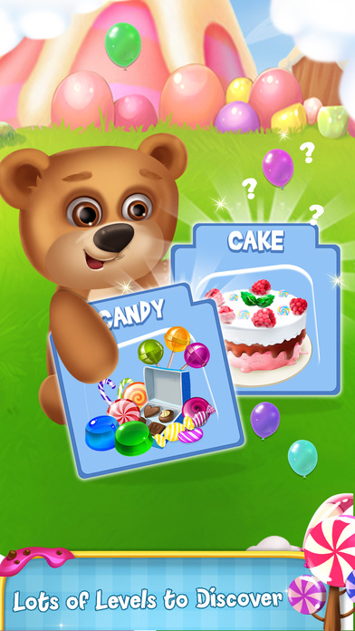 Memory Game : Cake and Candy screenshot 2