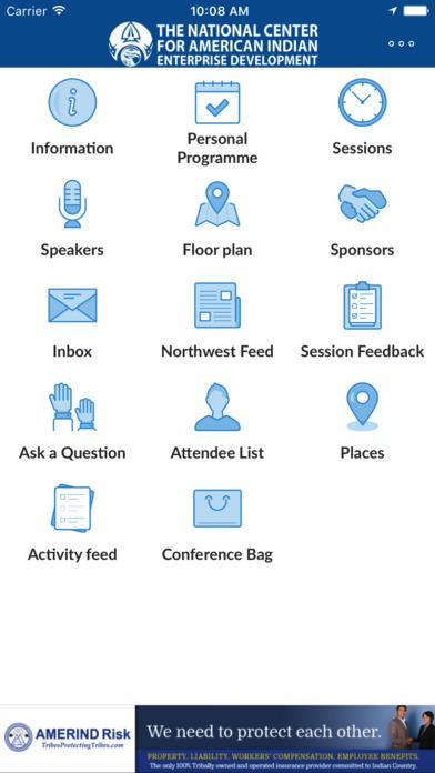 NCAIED Events screenshot 2