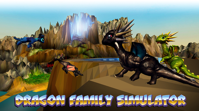 Dragon Family Simulator Full screenshot 1