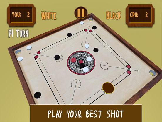 Carrom 3D-Realistic Counter Striker Finger Flick screenshot 7