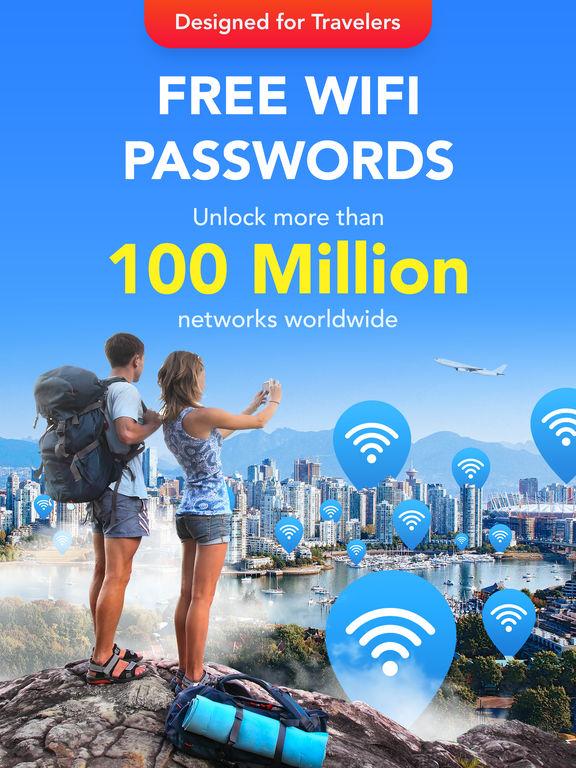 WiFi Map Pro - Scan & Get Passwords for free Wi-Fi Screenshots