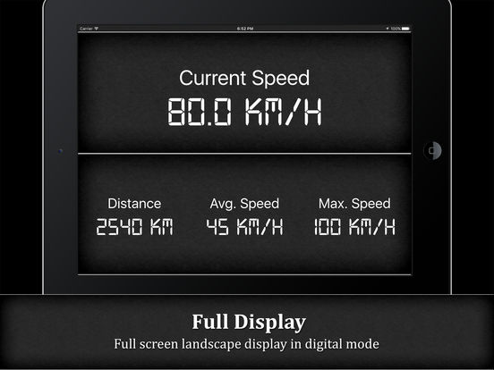Speedometer HD PRO (GPS Speed Tracker) Screenshots