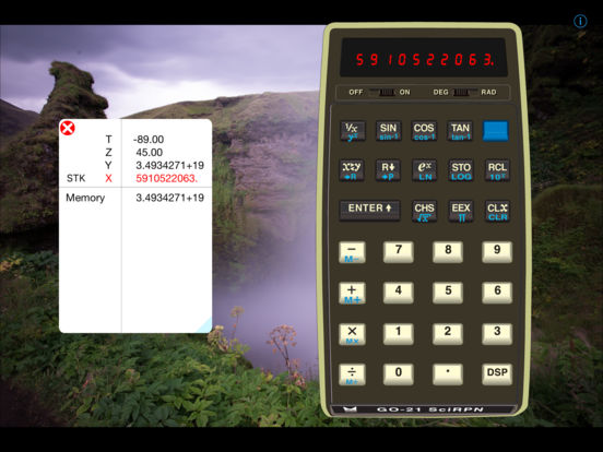 GO-21 SciRPN iPad Screenshot 1
