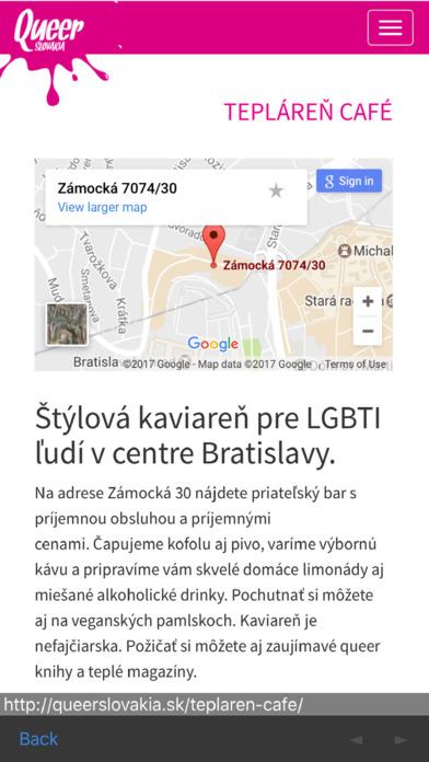 Queer Slovakia iPhone Screenshot 2