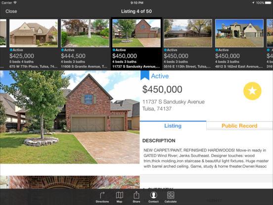 Tulsa MLS iPad Screenshot 1