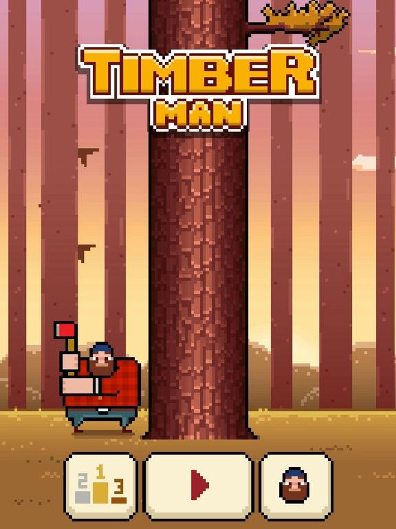 Timberman Screenshot