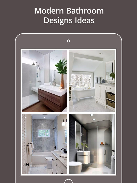 Modern bathroom designs on the app store Best bathroom design software for ipad