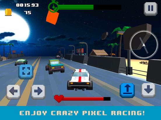 Pixel Drive: Maximum Car Speed Full screenshot 7