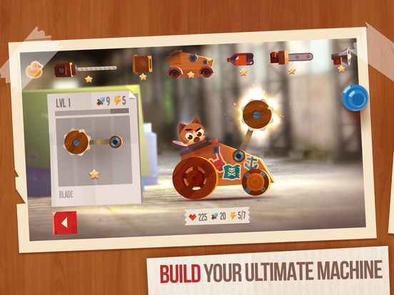 Image of CATS: Crash Arena Turbo Stars for iPad