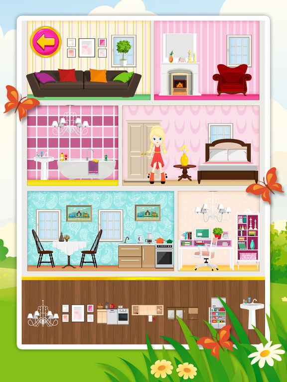 Doll House Decorating 2 Free Game For Children Review And Discussion Toucharcade