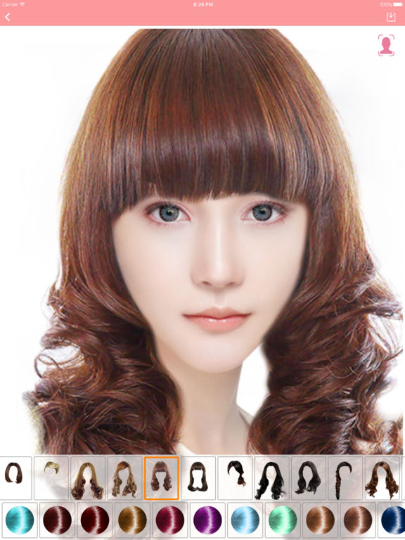 App Shopper: Fashion hairstyle ProHair style and color change