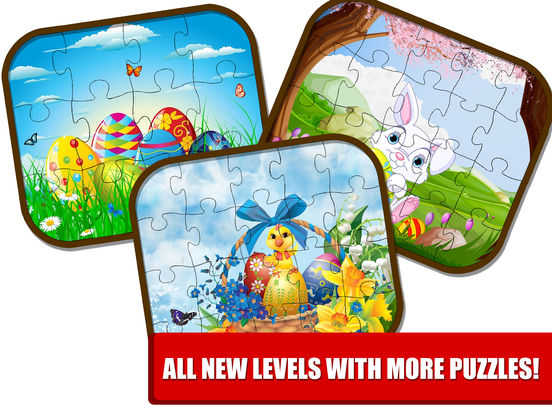 Kids Bunny Jigsaw Puzzle Easter Games screenshot 9