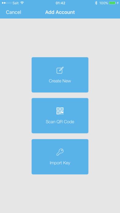 NEM Wallet app image