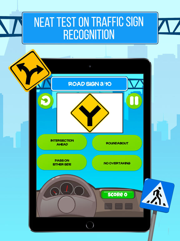 Traffic Signs Prof - Driving License Test Screenshots