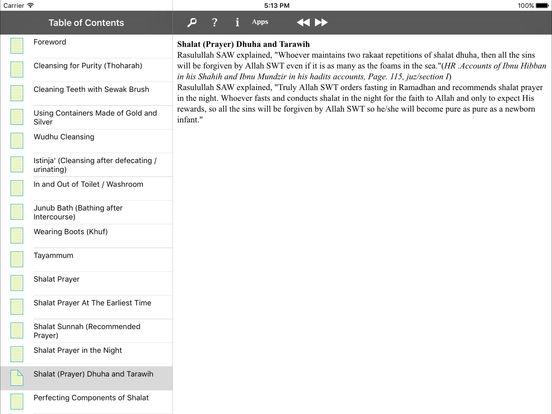 iTaqwa for iPad iPad Screenshot 2