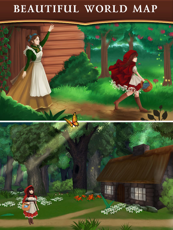 Red Riding Hood: Match & Catch screenshot 8