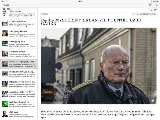 eBladet archive iPad Screenshot 3