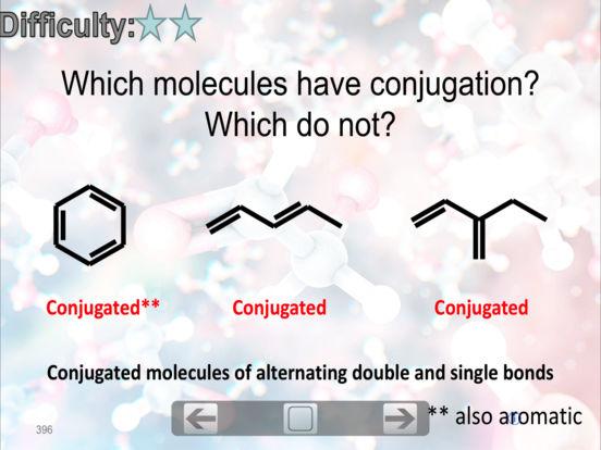 Organic Chemistry FlashCards iPad Screenshot 4