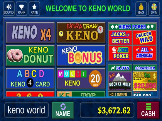 Real money keno app
